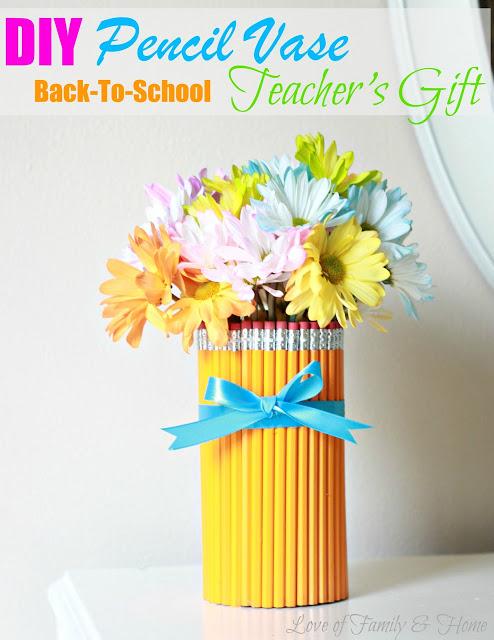 Pencil Vase Back To School Teachers Gift Parent Pro